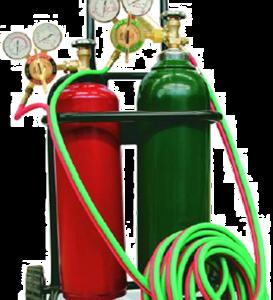 Equipo Oxicorte : 2 Cilindros + Equipo Oxicorte+carro transportador